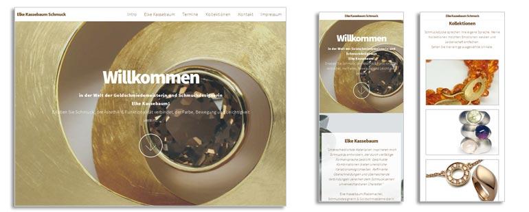 Website Elke Kassebaum Schmuck