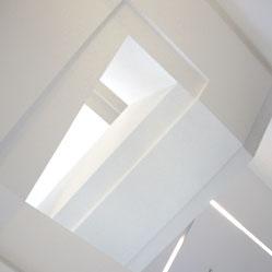 Architekturfotografie - skulpturales Treppenhaus